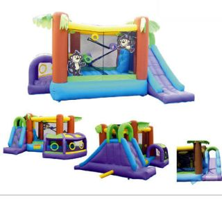 Inflatable Bounce House MONKEY EXPLORER JUMPER Bouncer