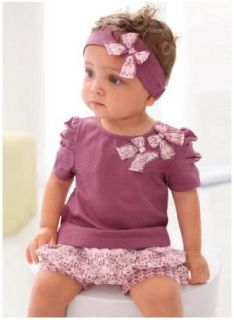 Toddler Baby Girl Infant Top+Pant+Headband Outfit Costume Cloth 0 36M