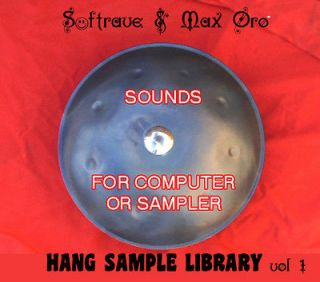 Newly listed Hang PanArt SAMPLE LIBRARY   Sounds of Hang Drum to use