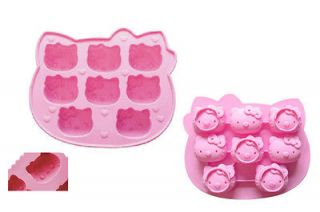Hello Kitty Silicone Chocolate/Ice/?Jelly/Pudding Cube Mould Mold Tray