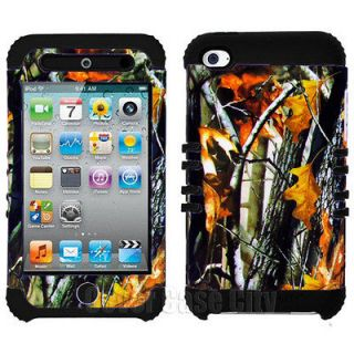 Branch Camo Rugged Hybrid Hard Cover Case Apple iPod Touch 4 4th Gen