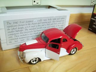 1940 Ford Coupe Street Rod SpecCast Diecast 125 Scale