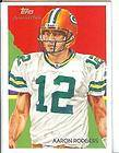 2009 National Chicle Aaron Rodgers Jennings Dual Jersey 25 25 3 Color