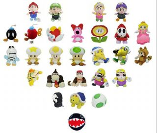 Wholesale New Mario Bros. Soft Stuffed Animal Plush toy collection