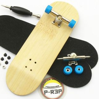 Complete Wooden Fingerboard   Bamboo Performance Tuned   Nuts