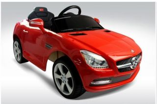 Battery Operated Ride On Toy car Luxury Mercedes Benz SLK350 Power