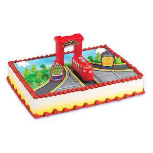 Newly listed CHUGGINGTON CAKE TOPPER Decoration