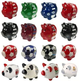CLUB   Ceramic PIGGY BANK (Money Box){Birthday/Christmas Gift