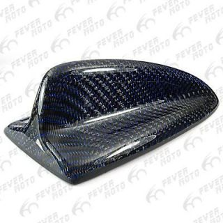 Carbon Fiber Universal Fit SUV Car Roof Top Shark Fin Style Antenna