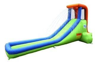 Bounceland Inflatable Bounce House Single Water Slide