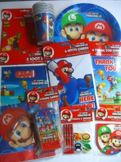 SUPER MARIO BROS.WII PARTY RANGE {fixed £1 UK p&p}