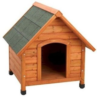 SOLID WOOD EXTRA LARGE BREED PET PUPPY DOG HOUSE KENNEL DOGHOUSE
