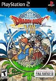 Dragon Quest VIII Journey of the Cursed King (Sony PlayStation 2