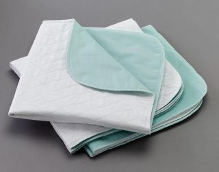 Washable Reusable Bed Pads 36 x 34 Hospital Underpads MADE IN USA