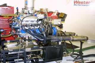 Big Block Chevy Engine 1,330+hp Pro Drag Race Dyno Proven