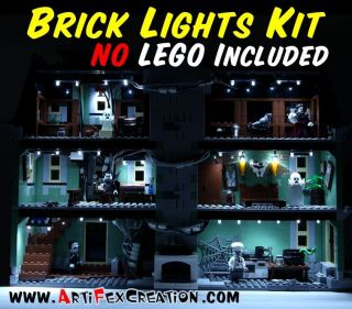 BRICK LIGHTS Haunted House 10224 Lego Monster Fighters 9468 9467 9466