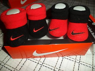 Newly listed NIB NIKE LOGO BABY INFANT BOYS CRIB SHOES BOOTIES SOCKS