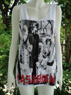 Kasabian Asylum UK Indie Rock Tank Top T Shirt S/M