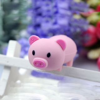 16BG Lovely pink Pig USB Memory Flash Drive Stick U Disk Storage