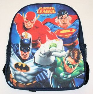 Justice League of America Batman Superman Flash Green Lantern Backpack