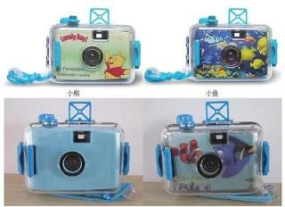 1x Cute Cartoon LOMO Underwater Waterproof Mini 35mm Film Camera Gift