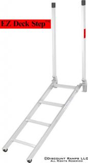 NEW PORTABLE ALUMINUM LADDER DROP STEP DECK TRAILERS (Ladder 16 48)