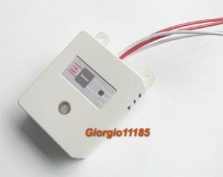 Auto On Off Light Switch Photo Light & Sound Voice Control Sensor