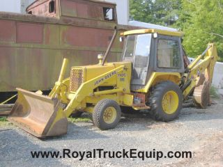 1990 John Deere 310C Loader Backhoe, Low Hours for Year