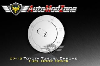 07 12 Toyota Tundra Chrome Fuel Gas Door Cap Cover (Fits Toyota)