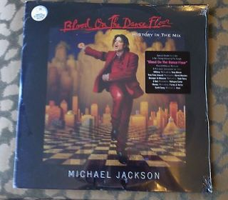 Michael Jackson Blood on the Dance Floor SEALED 2 LP Vinyl Record Set