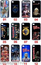 Iron Maiden British Heavy Metal Band Iphone 4 & 4S Black Hard Case