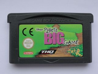DISNEYS PIGLETS BIG GAME ☆ GAME BOY ADVANCE ☆ GBA ☆ CART ONLY