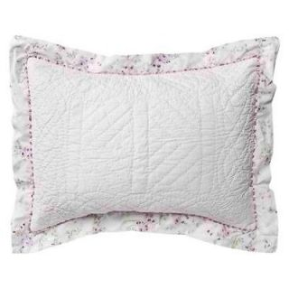 Rachel Ashwell Simply Shabby Chic Cherry Blossom Quilted Sham