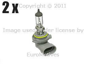 Mercedes r170 r171 w203 Fog Light Bulb 55w Halogen x2 driving lamps