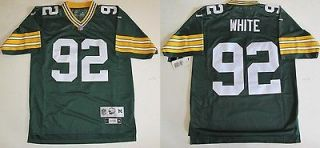 RBK PREMIER GREEN BAY PACKERS REGGIE WHITE THROWBACK GREEN JERSEY XL
