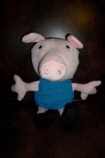 Peppa Pig brother GEORGE plush stuffed doll 15 soft K&K toys lovey