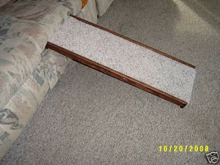 WOODEN CARPETED PET RAMP DOG OR CAT 36