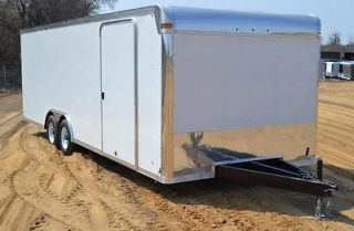 Enclosed Race Car Trailer 8.5 Wide Tandem Axle Cargo Utility Hauler