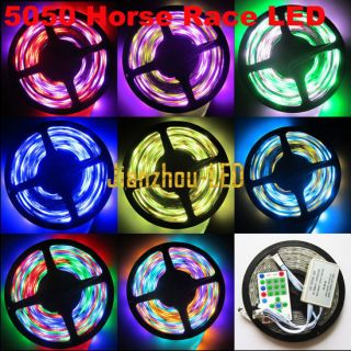 54Leds/M Dream color Horse Race 5050 chasing RGB SMD 5M Led Strip