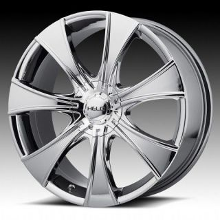 15 inch Helo pvd chromes wheel rims 4x4.5 4x114.3 cl 2.2 3.0 tc 2.5