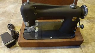 Montgomery Ward Revesrsible Rotary Sewing Machine 05 NS 1651 8 w/ Case