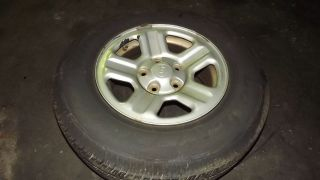 07 08 09 10 Jeep Wrangler spare wheel and tire 16 in rim