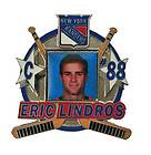 Eric Lindros signed autographed jersey authentic New York Rangers 2003