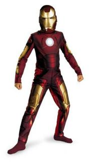 Iron Man Movie Mark III Armor Super Hero Dress Up Halloween Child