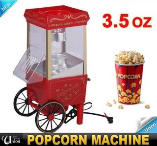 5OZ Red Mini Popcorn Machine Maker Popper Cart Commercial Tabletop Hot