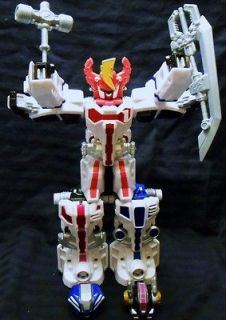 POWER RANGERS TRIPLE TRANSFORMING MEGAZORD FIGURE BANDAI 2006 IN