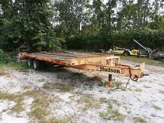 used heavy equipment trailer in Trailers