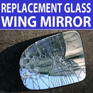 Passenger Side Wing Mirror Glass JAGUAR S to Type (99