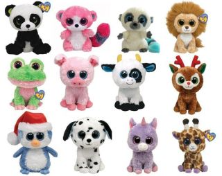 TY BEANIE BOOS BOO ~ CHOOSE YOUR 6 CHARACTER SOFT PLUSH TOY ***NEW