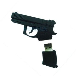 Cartoon Cute Love Pistol Gun USB 2.0 Flash Pen 8GB 8G Memory Drive